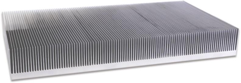 简单先容铝型材散热器的生产工艺:一