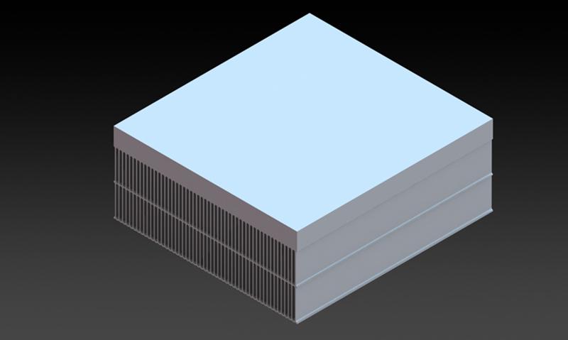 单边组合系列散热器
