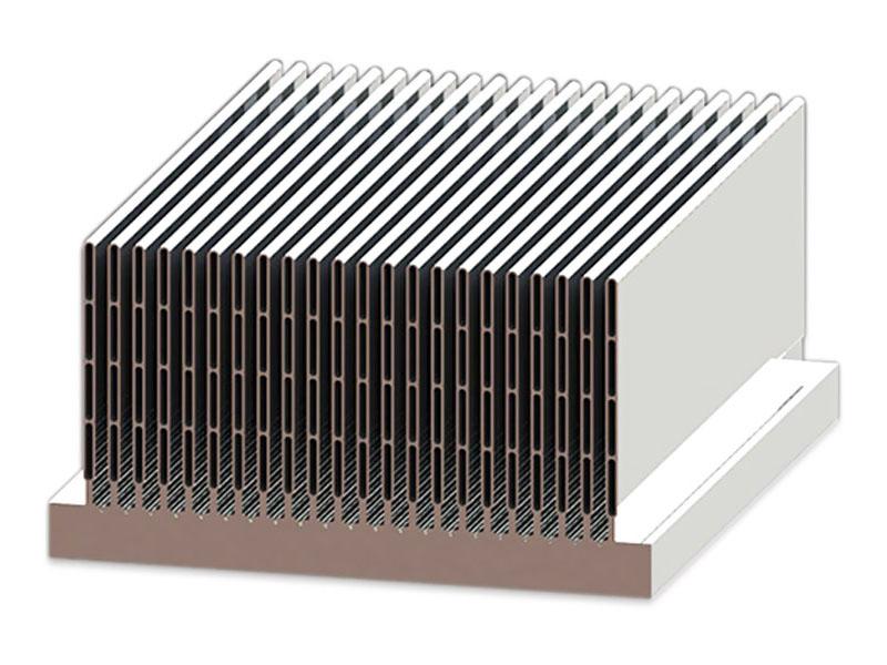 概况几种铝型材散热器的特点