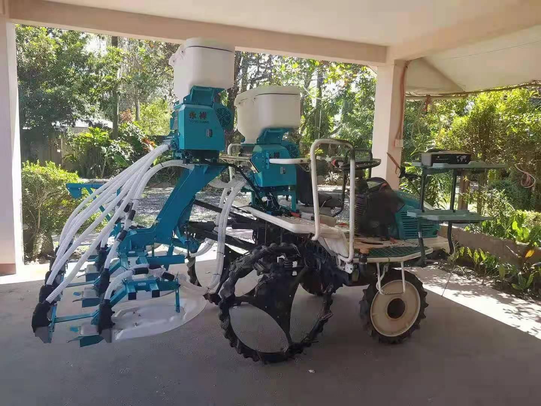 湖北永祥智能水稻施肥一体机得到菲律宾用户的好评!